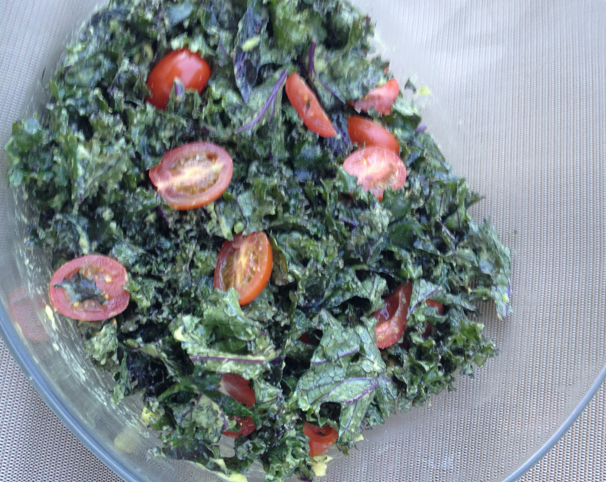 Kale Salad Avocado Dressing v3