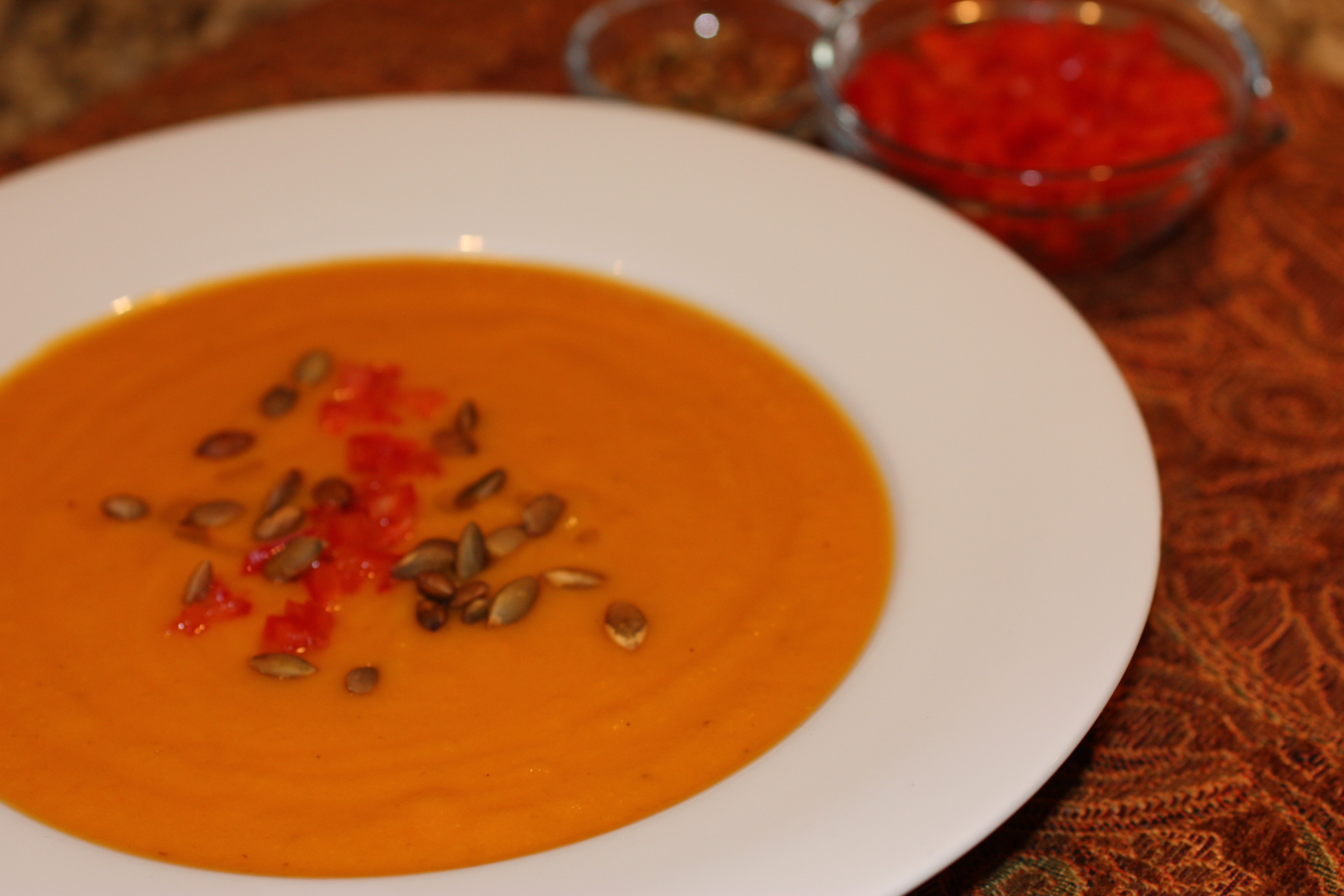 Anti-aging Roasted Vegetable Soup