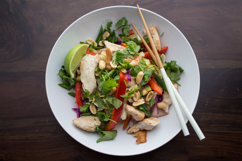 Grain Free Chicken Pad Thai