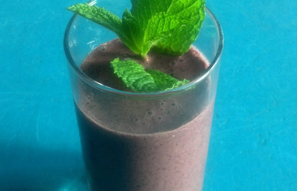 Blue lavender smoothie cropped