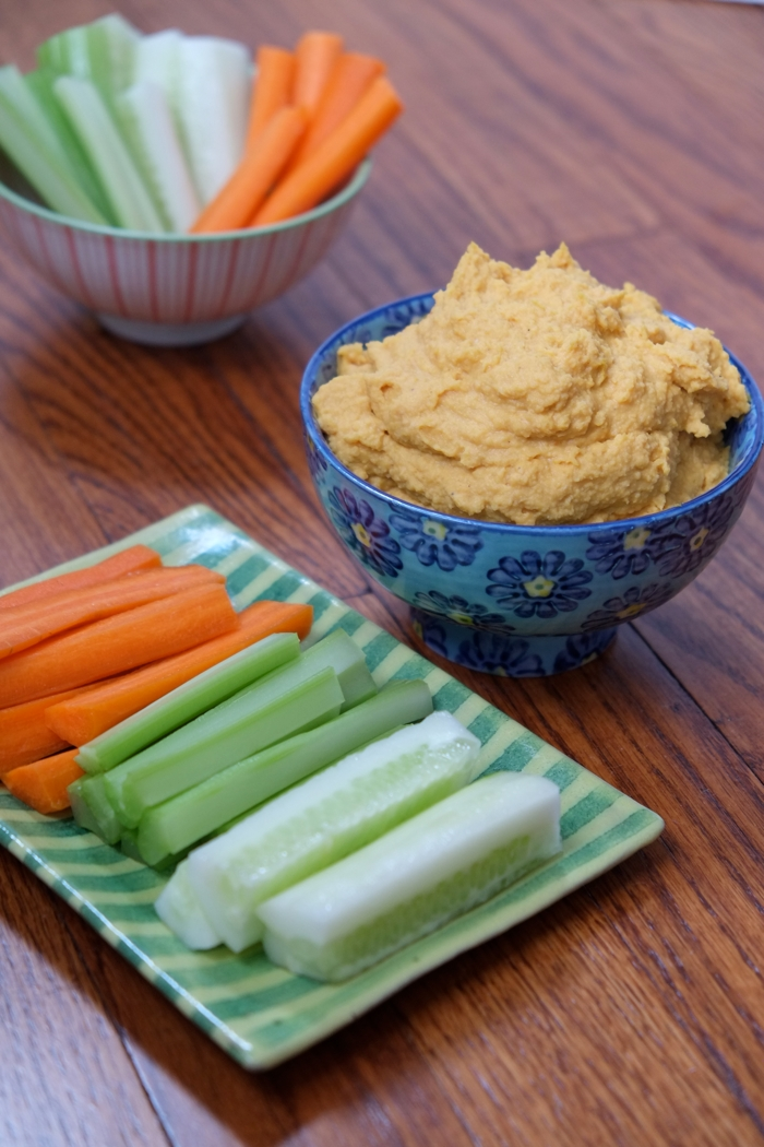 Sweet Potato Curry Hummus - myWholeLife.ca