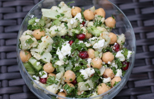 Cauliflower & Pomegranate Salad