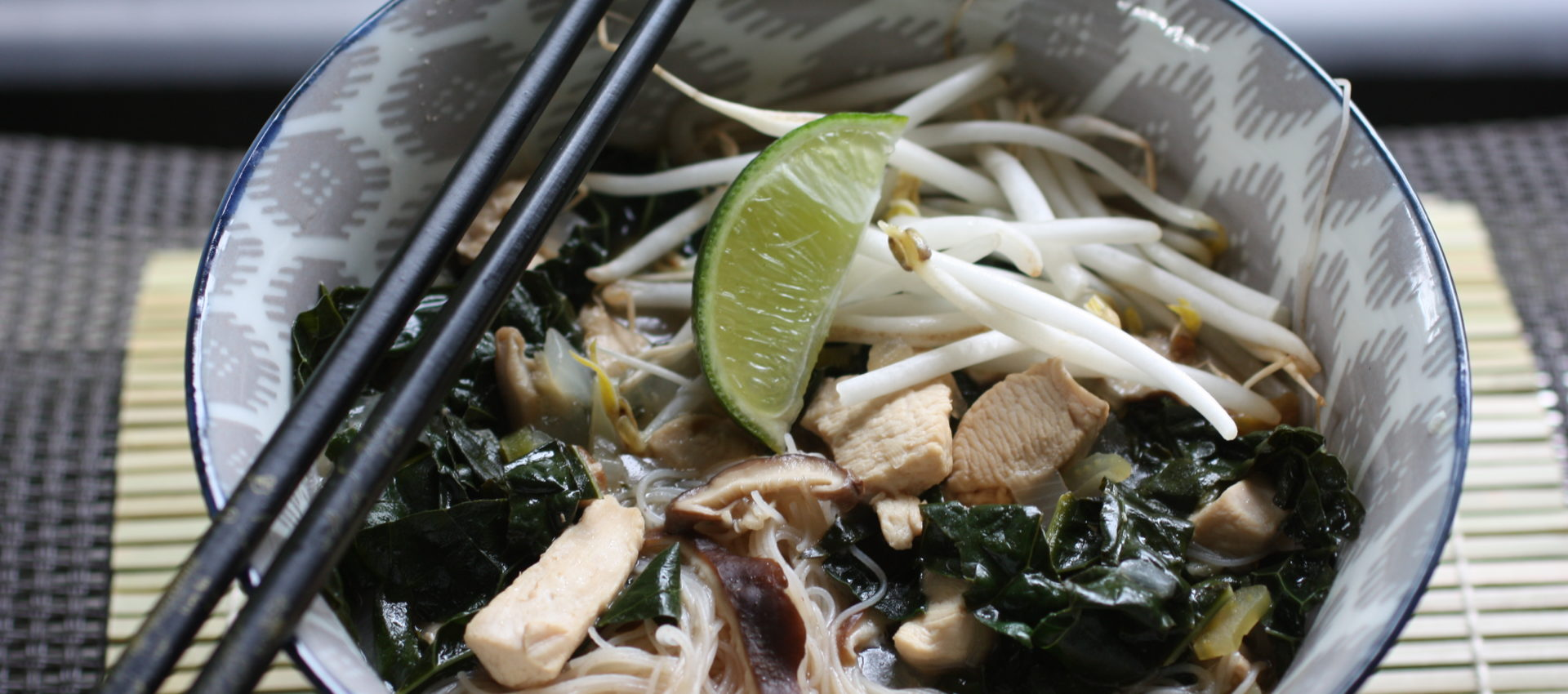 Feisty Asian Noodle Bowl